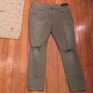 NWT Joe's Jeans Destroyed Skinny Ankle Jeans